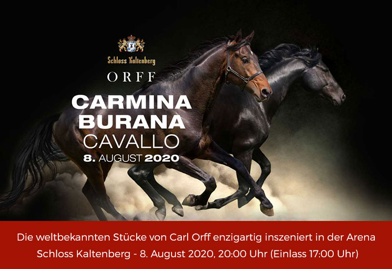 Veranstaltung Carmina Burana Cavallo Kaltenberg